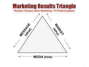 Marketing ideas for physical therapists