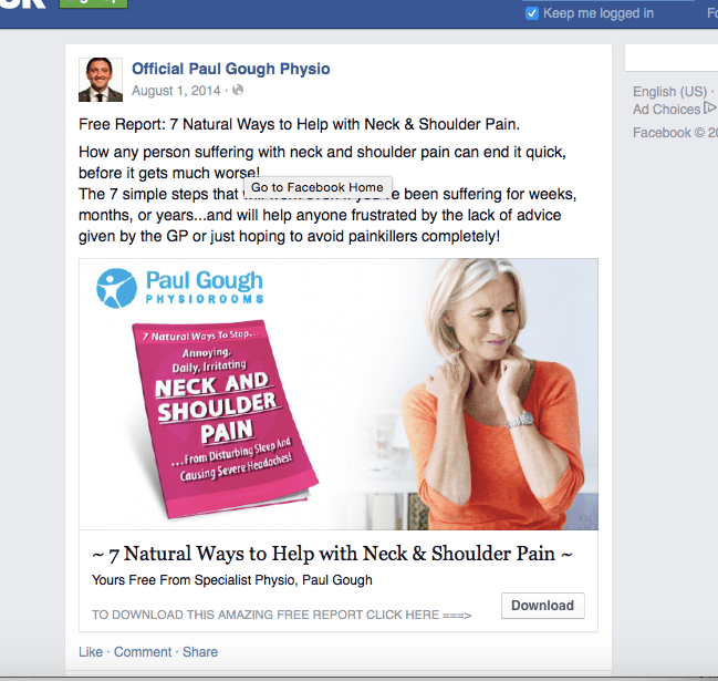 The Facebook Revolution of 2015 - Can Physical Therapy Clinics Cash In Via Direct Access ...